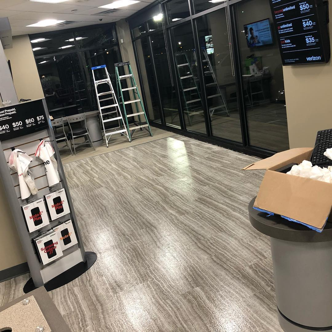 Commercial Floor Cleaning Services Marvin