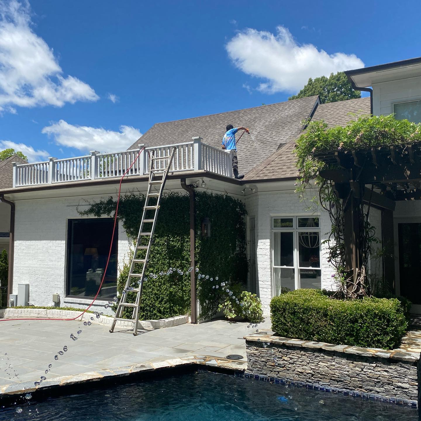 roof washing Fort Mill