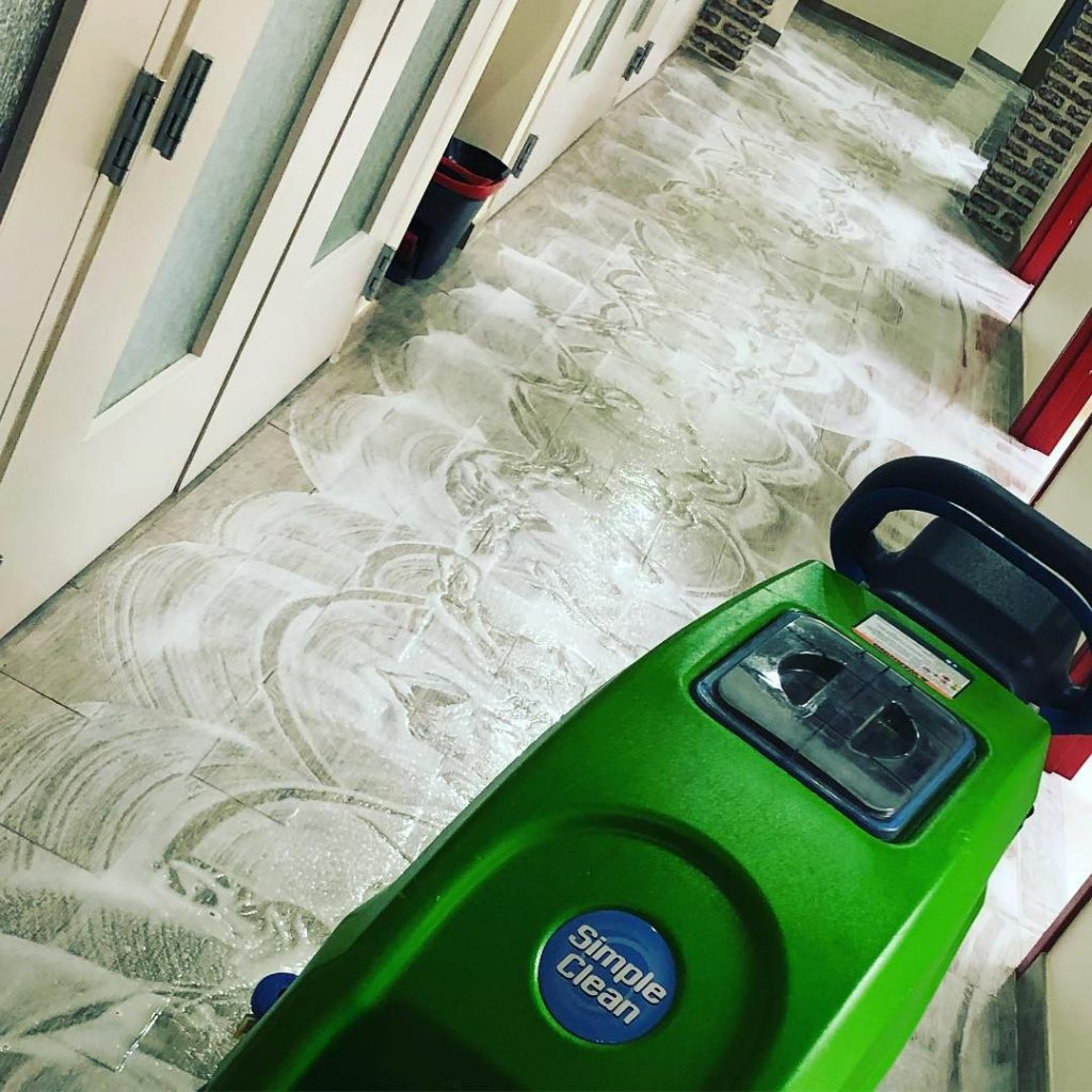 commercial floor cleaning services Wesley Chapel