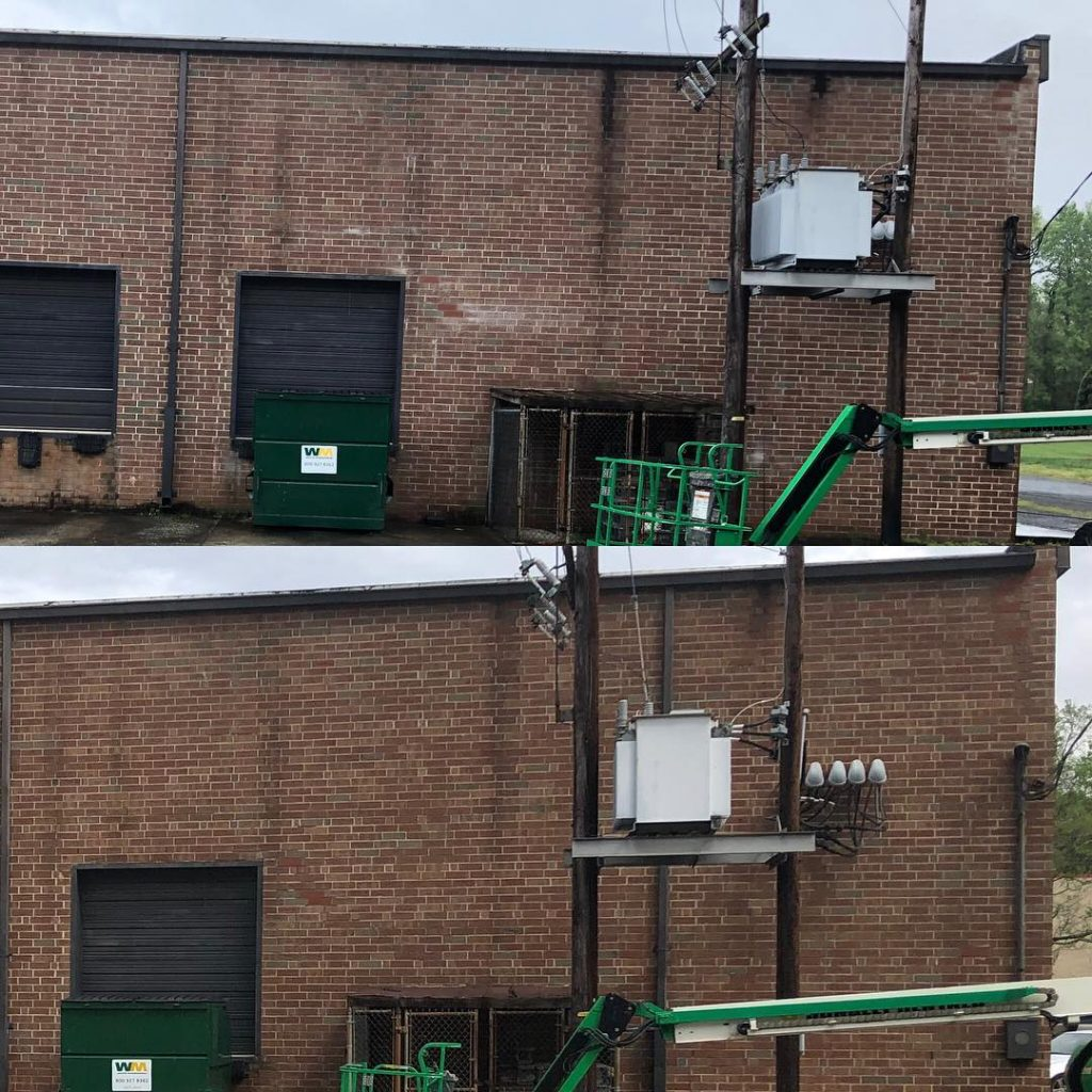 commercial power washing Wesley Chapel