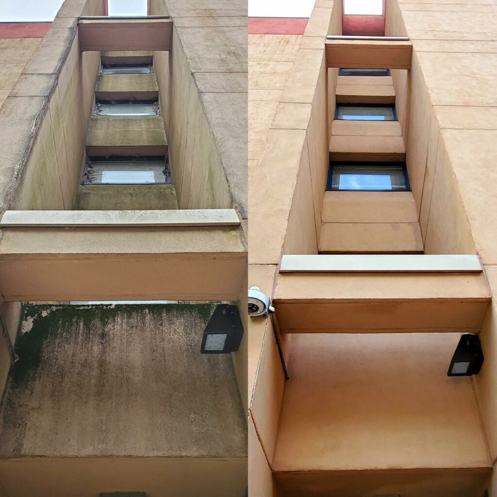commercial pressure washing Concord