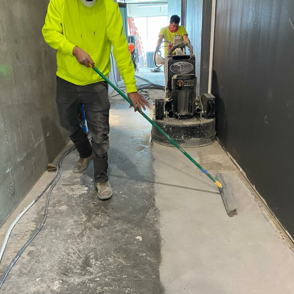concrete grinding services Waxhaw NC