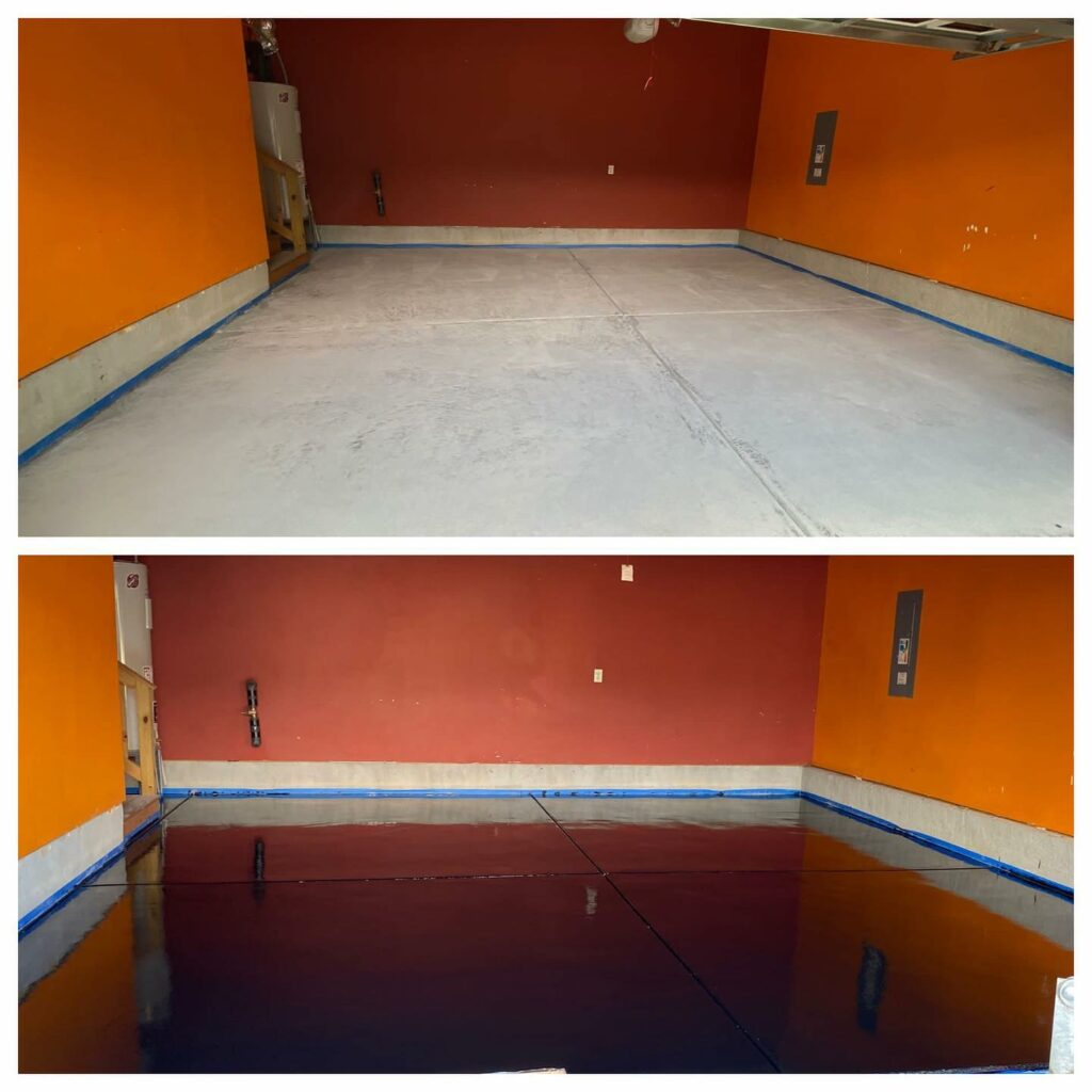 epoxy flooring Huntersville NC
