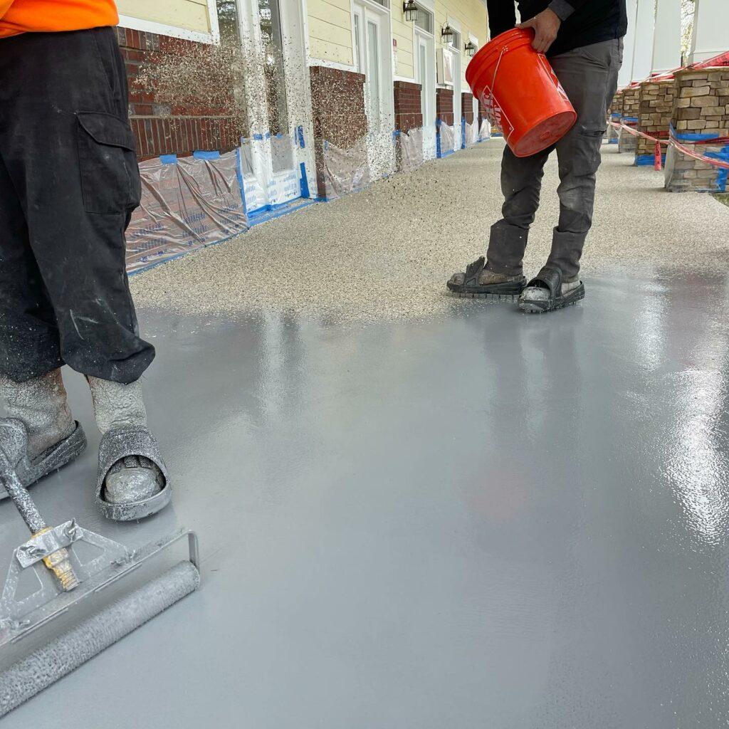 epoxy flooring Matthews NC