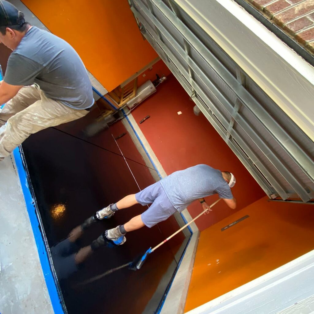 epoxy local flooring in Concord NC