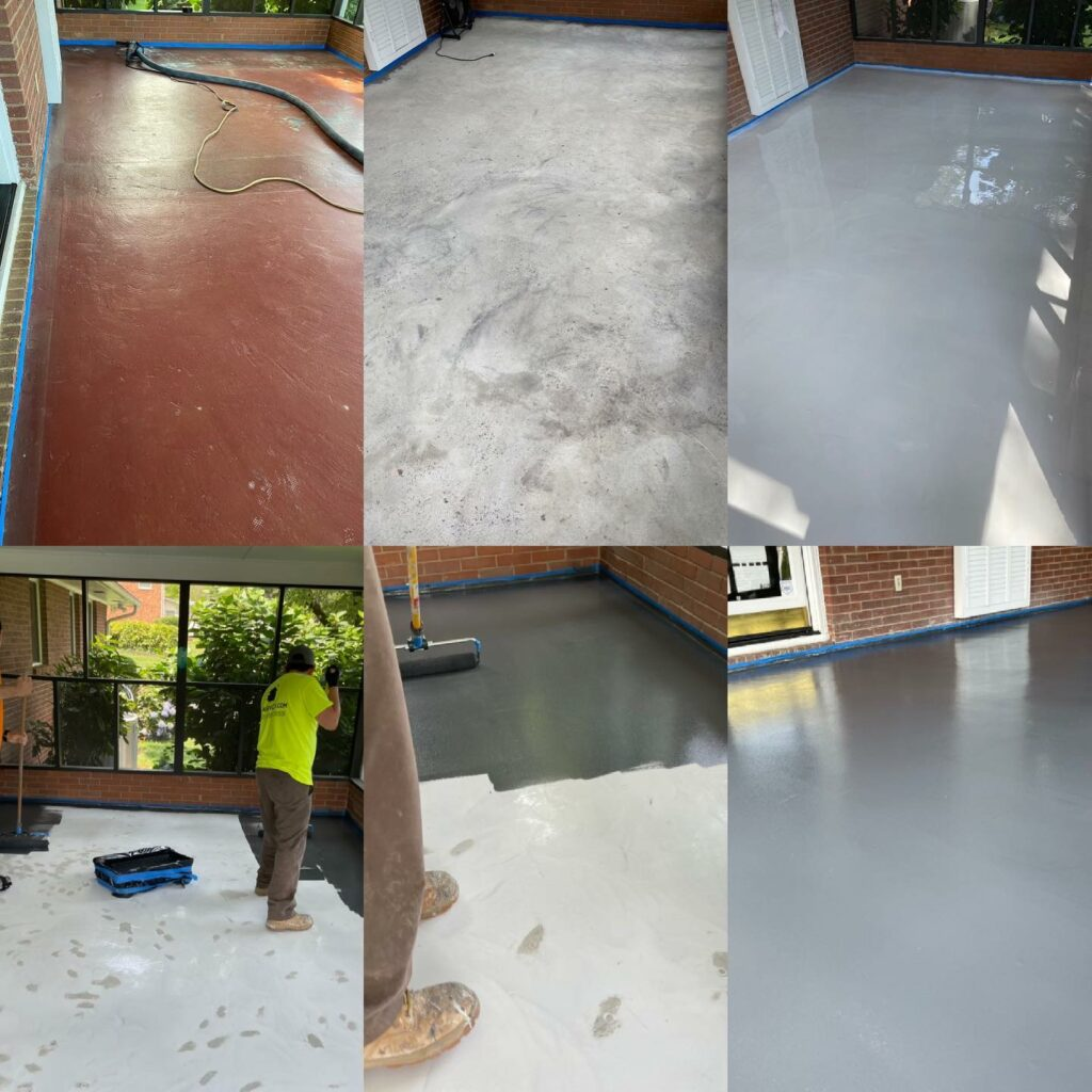 epoxy local flooring in Fort Mill SC