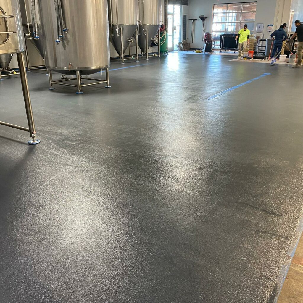 epoxy local flooring in Matthews NC